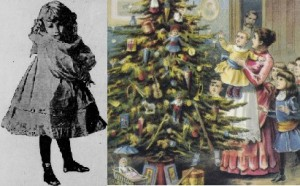 Ida McKinley permitted her grandniece Marjorie Morse a small Christmas tree in her room.