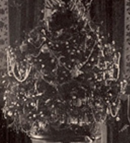 Frances Cleveland's Christmas tree for her three little girls.