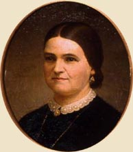 Mary Lincoln, painted from photographs in 1864 by Francis B. Carpenter. (Museum of Art, University of Indiana, baumconservation.com)