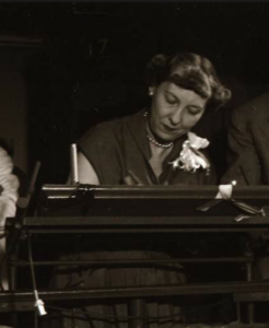 Inside the campaign train, Mamie Eisenhower advised her husband on how to alter his speeches. (the gazette.com)