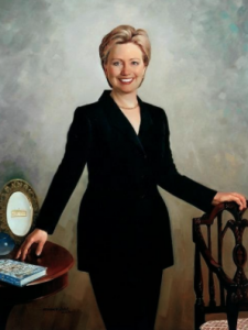 Clinton portrait. (WHHA)