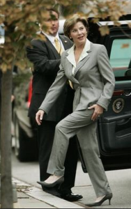 Laura Bush. (GWBL)