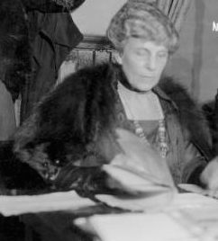 Governor Florence Harding? (LC)