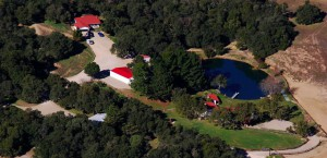 An aerial view of the Reagan Ranch. (www.vacationsmadeeasy.com)