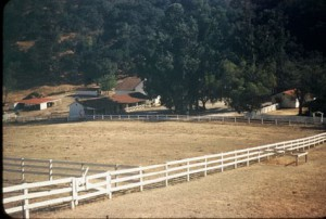 The second Reagan ranch was located at what is now Cornell Road and Mulholland Drive. (ronaldsreagansranches.com)