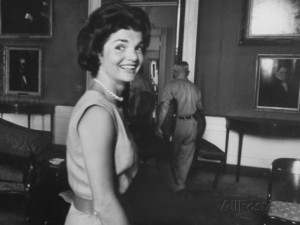 Of all she did, Jackie Kennedy said she was proudest of the historic restoration. (LIFE)