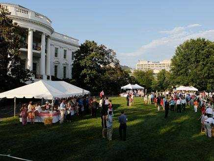 A Congressional Picnic on the South Lawn. (WH)