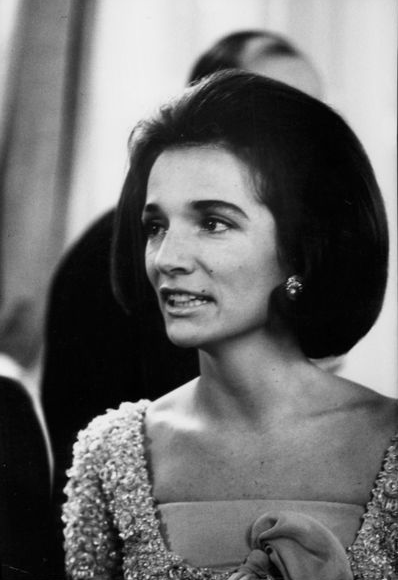 Lee Bouvier Radziwll, the sister of First Lady Jacqueline Kennedy.