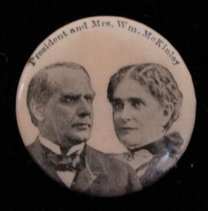 This button have been issued for use in the McKinley 1900 campaign. (pinterest)