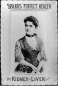 Frances Cleveland's image was used to sell products like kidney and liver pills. (NFLL)