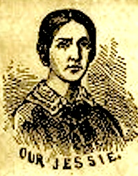 Jessie Benton Fremont, the first presidential candidate's spouse to be depicted on campaign paraphrenala.