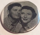 One button showed the Reagans co-starring in their only feature film together. (ebay)