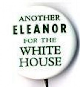 Eleanor McGovern's name was put to good use by referencing the legendary Democratic First Lady Eleanor Roosevelt. (ronwade.com)