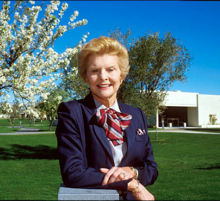Betty Ford at the recovery center which bore her name. (Betty Ford - Hazelden)
