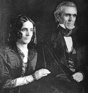 Sarah and James Polk. (wikipedia)