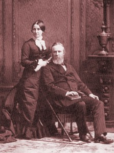Rutherford and Lucy Hayes. (LC)
