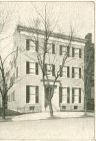 Harriet Lane Johnston's Washington home on I and 17th streets. (first ladies.org)