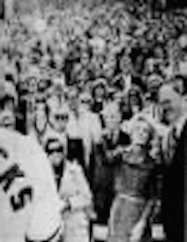 Pat Nixon became the first First Lady to toss a ceremonial ball at a professional baseball league game during the 1971 World Series. (carlanthonyonline.com)
