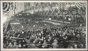 The 1920 Republican Convention in Chicago. (LC)