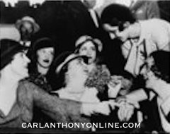 Mrs. Wilson holds court, 1936 convention. (carlanthonyonline.com)