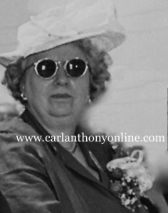 Not even a pair of sunglasses could shield Bess Truman