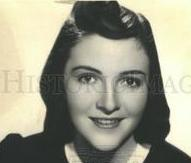 As a Smith College freshman Miss Anne Frances Davis in 1939. (Historical Images)