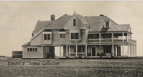 The Jersey shore mansion where Lucretia Garfield was recuperating when, the morning before July Fourth, she rushed back to her wounded husband's side in Washington. She later brought him here, where he died. (longbranchhistory.org)