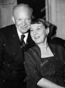 Unknown to many, on the rare occasions that General Eisenhower displayed emotional vulnerability, he could count on Mamie's strength as a foundation. (Getty)