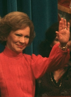 Rosalynn Carter at the 1980 Democratic National Convention. (Pinterest)