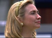 "The ""Hillary headband."" (Pinterest)"