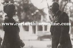Florence Harding and Harry Daughtery. (carlanthonyonline.com)