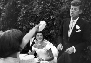 The Kennedy wedding. (Pinterest)