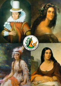 Popular depictions of Pocahontas. (Pinterest)