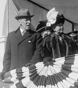 Ellen Wilson was as engaged a political partner to her husband Woodrow Wilson as had  been her predecessor Mrs. Taft. (WWPL)