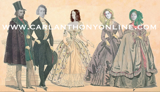 A composite image of Robert, John, Alice, Letty and Lizzie Tyler during their White House tenure. (www.carlanthonyonline.com)