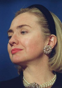 "The ""Hillary Headband."" (Vogue)"