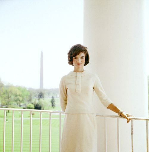 Jacqueline Kennedy is still universally held up as an ideal when it comes to the fashions of First Ladies. (JFKL)