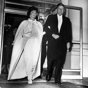 Jackie Kennedy seemed strong on Inaugural night. (AP)