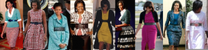 Mrs. Obama popularized belts. (Pinterest)