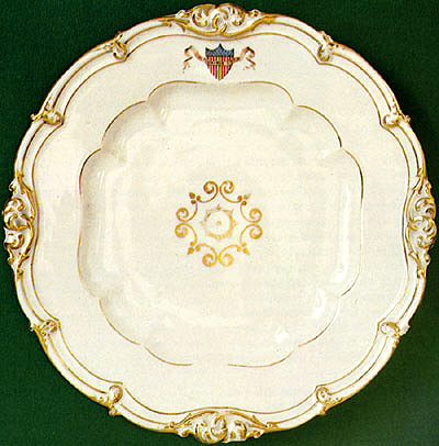 Famous China Patterns first ladies' trivia