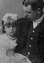 Eleanor Roosevelt and her beloved father. (FDRL)