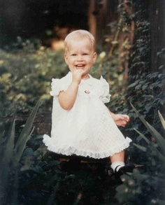 Chelsea Clinton as a toddler. (WJCPL)