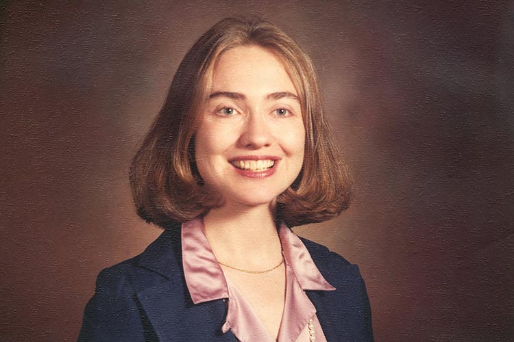 hillary clinton biography national first ladies library