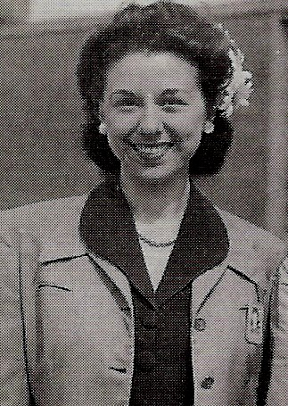 Dorothy Howell Rodham at the time of her 1942 marriage. (WJCPL)