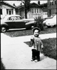 Hillary Rodham as a toddler in Chicago. (WJCPL)
