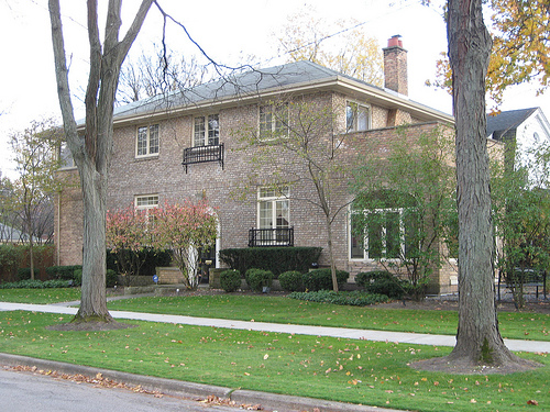 Good Hillary Rodhamu0027s Childhood Home, Park Ridge, Illinois.