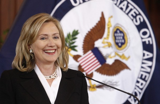 Hillary Clinton was the third woman to serve as U.S. Secretary of State. (AP)