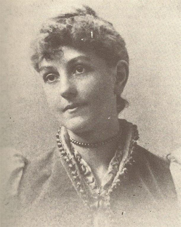 Ellen Wilson at the time of her marriage. (Ellen Wilson, Saunders)