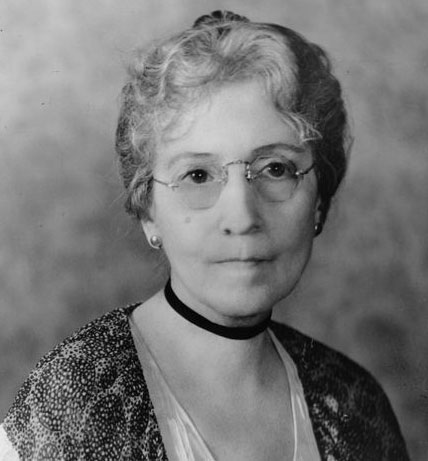 Madge Wallace, at the time her daughter became First Lady. (HSTL)